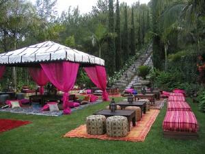Moroccan Style Decor Moroccan Garden Moroccan Poufs